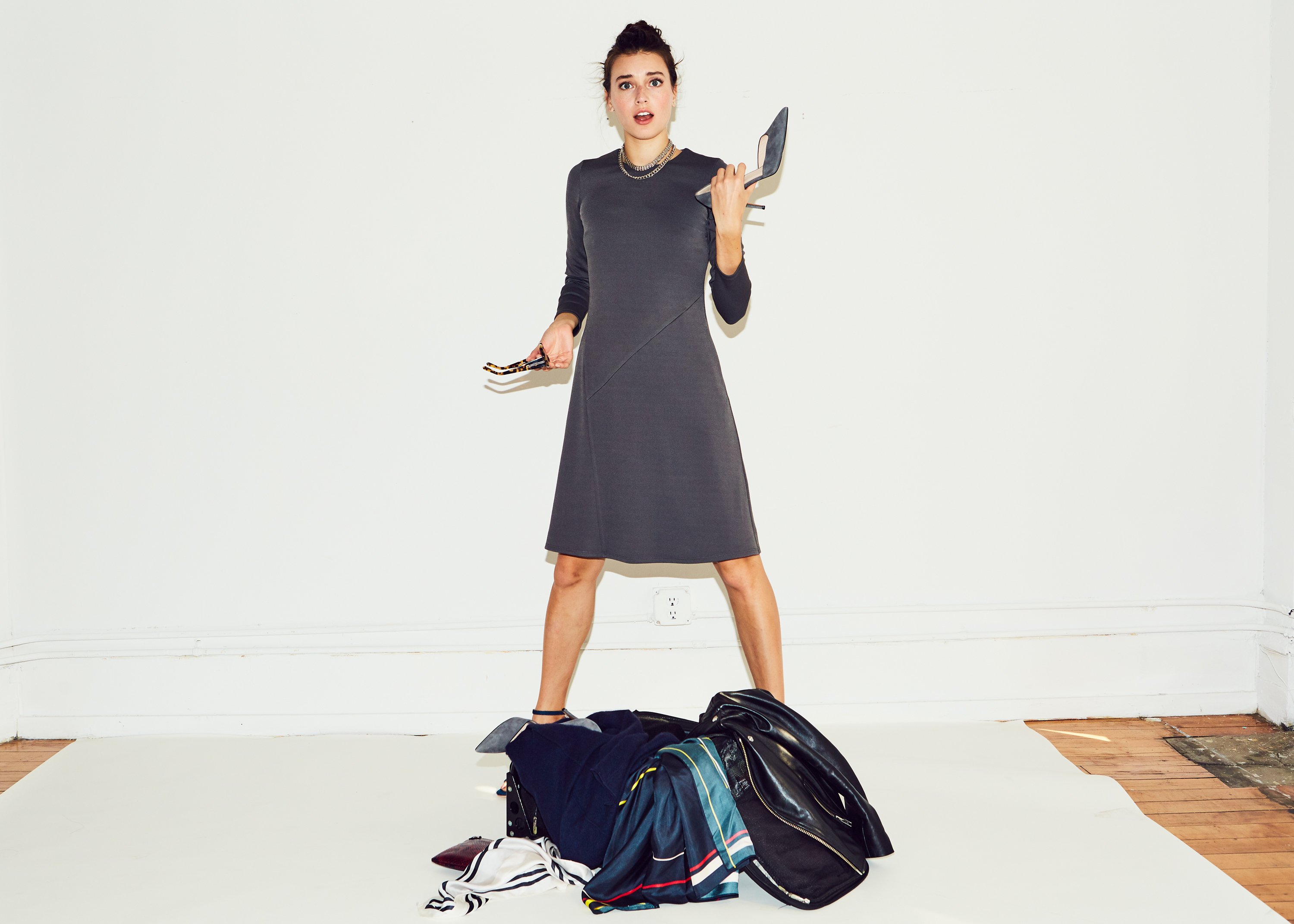 Of Mercer | Grey Baxter Dress | Travel-friendly