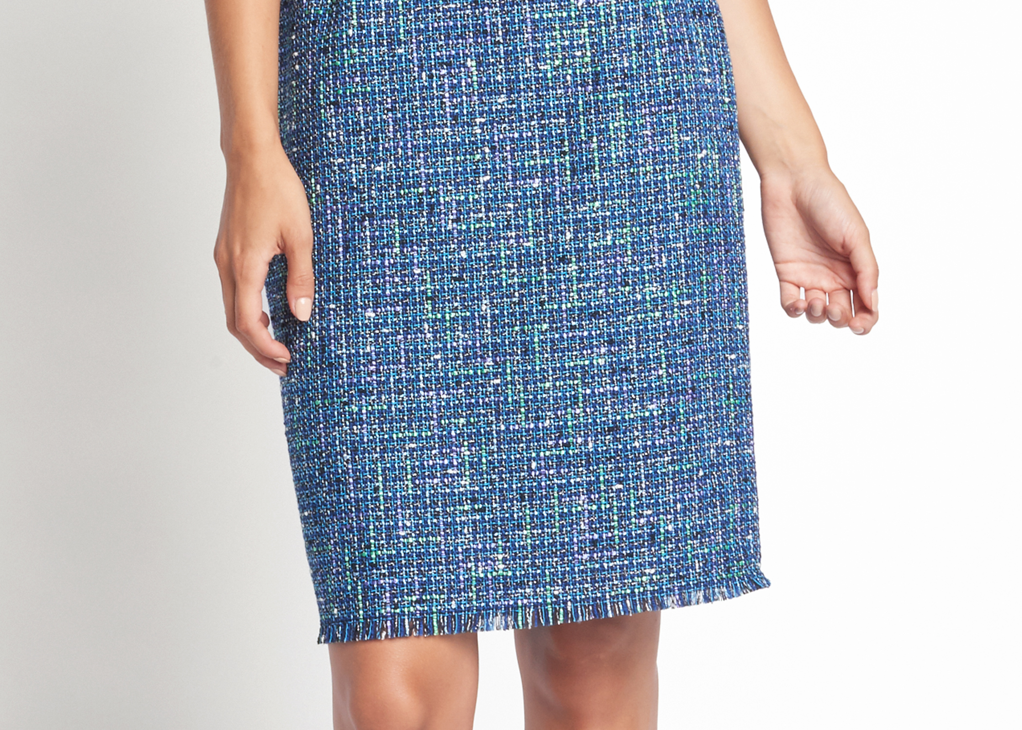 Of Mercer | Lafayette Tweed Skirt | Detail Shot