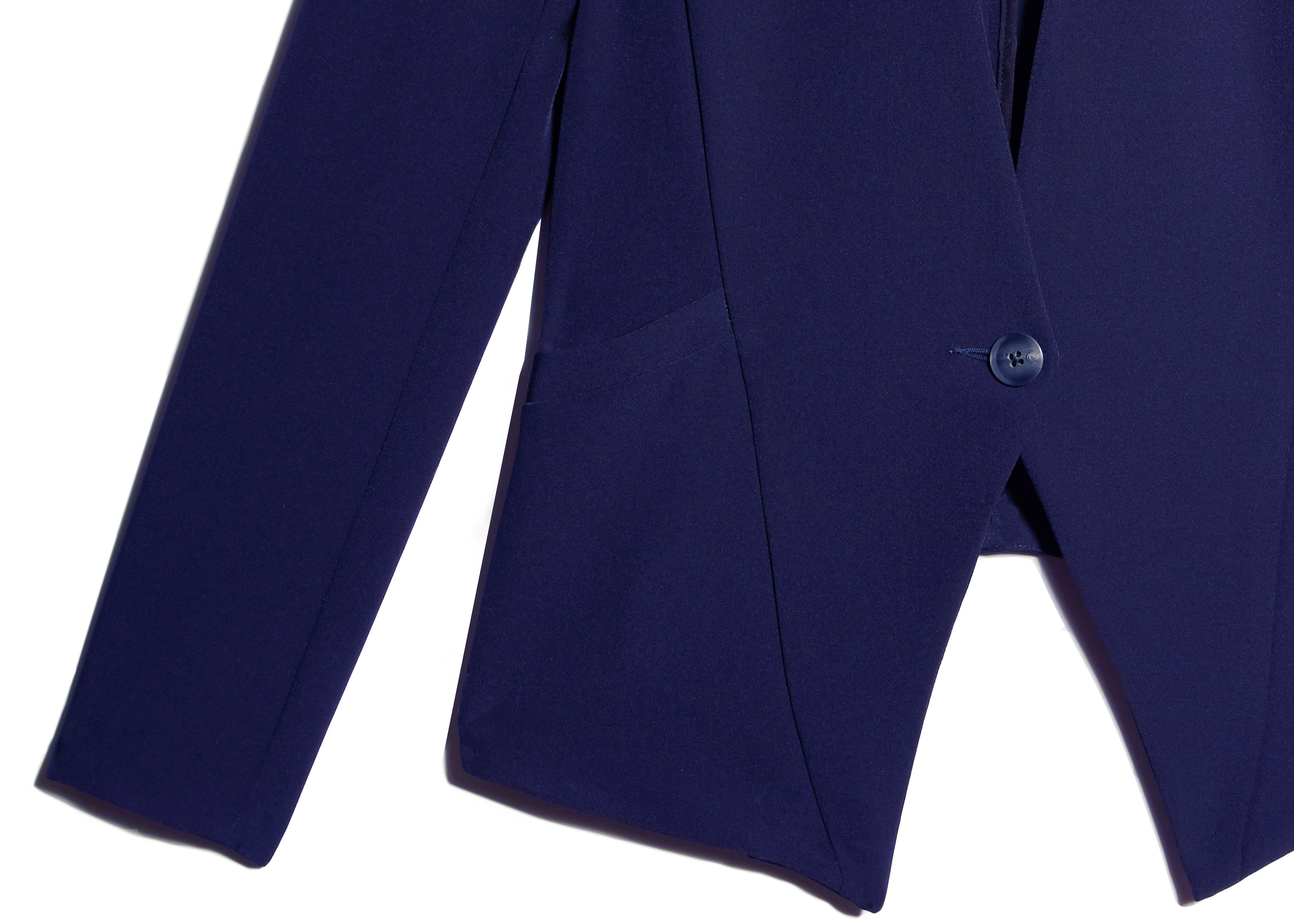 Of Mercer | Navy Lenox Blazer | Detail Shot