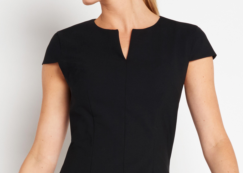 Of Mercer   Black Hudson Dress   Detail Shot