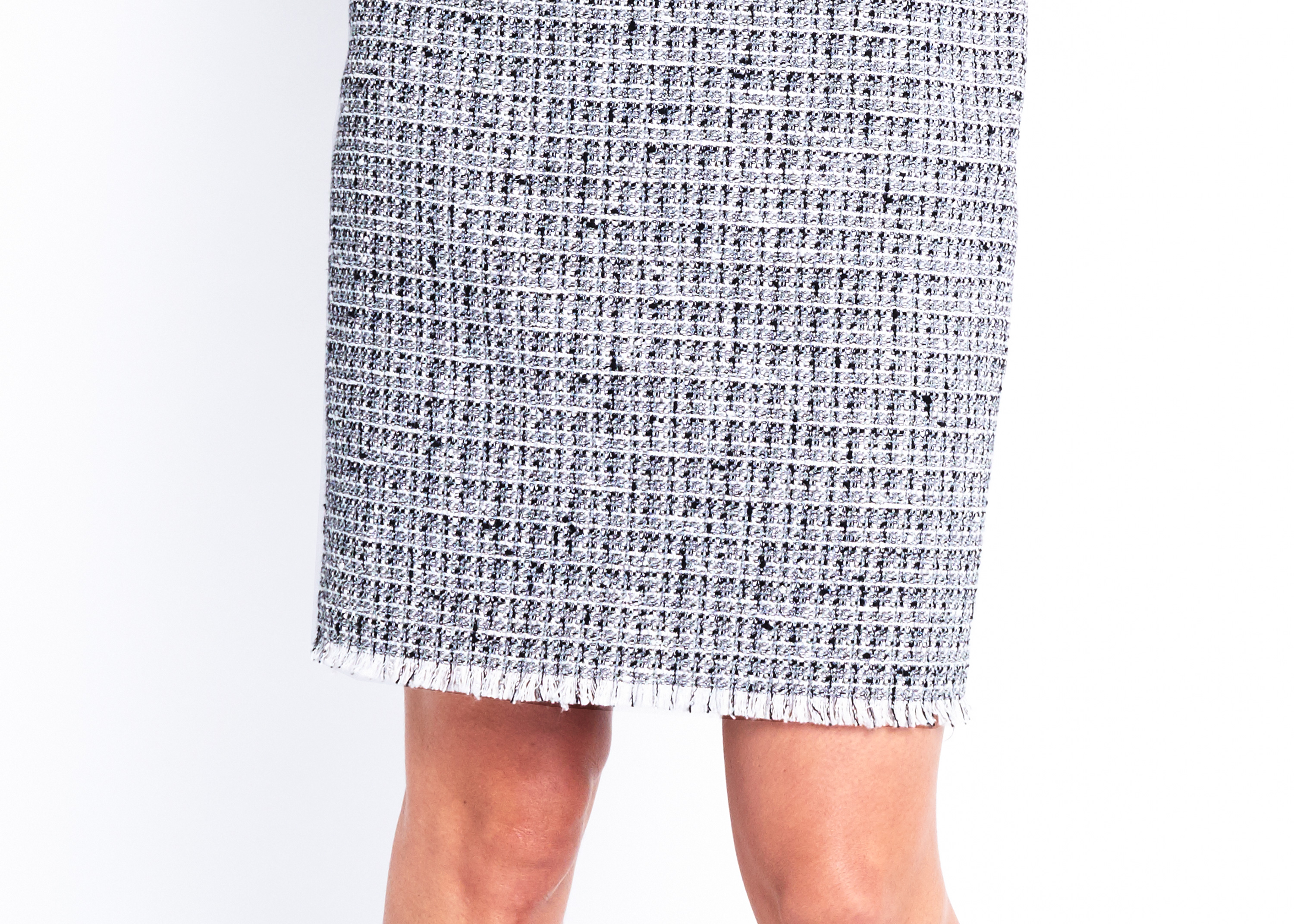 Of Mercer | Lafayette Tweed Skirt | Detail Shot
