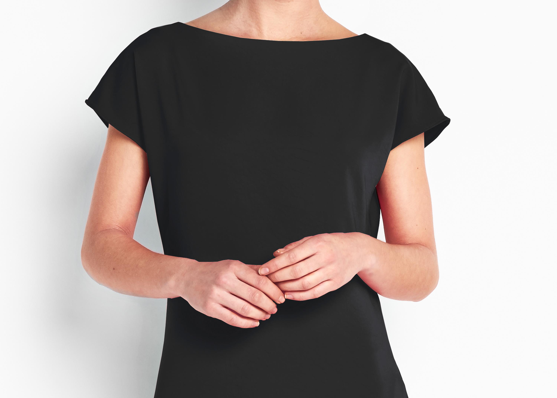 Of Mercer | Black Belted Work Dress | The Riverside