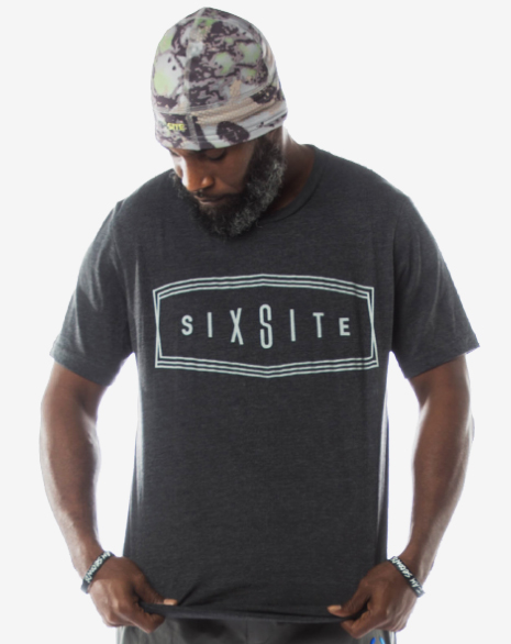 fc11c03834cbe SIXSITE Badge Shape-Retention T-Shirt | SIXSITE Gear
