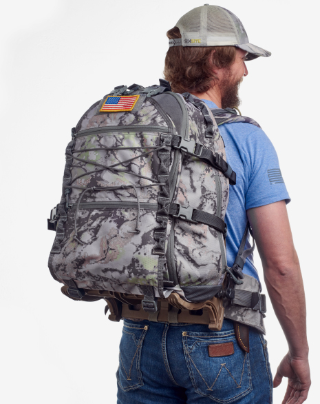 SIXSITE pack offers unmatched versatility  as a 3 Day pack, a meat hauler, or early season 6 day backcountry hunting pack