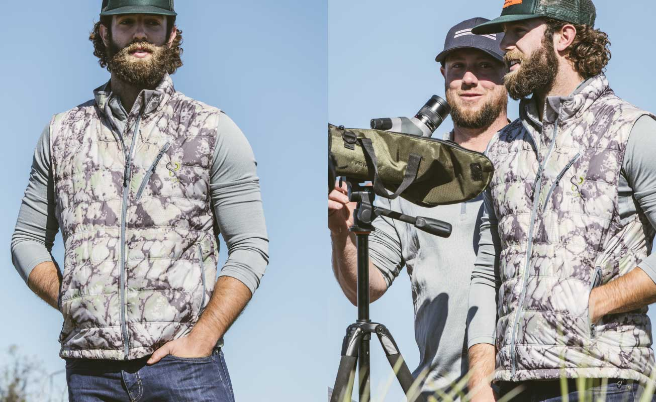 SIXSITE Nueces insulated vest is optimal for any outdoorsmen