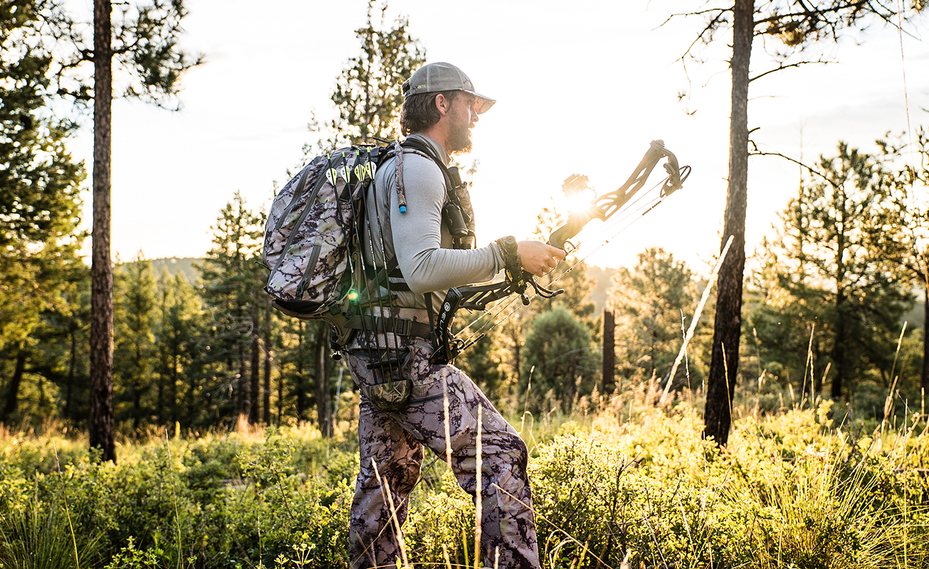 SIXSITE Cimarron Base Layer uses raglan designed sleeves that improve range of motion essential for bowhunters