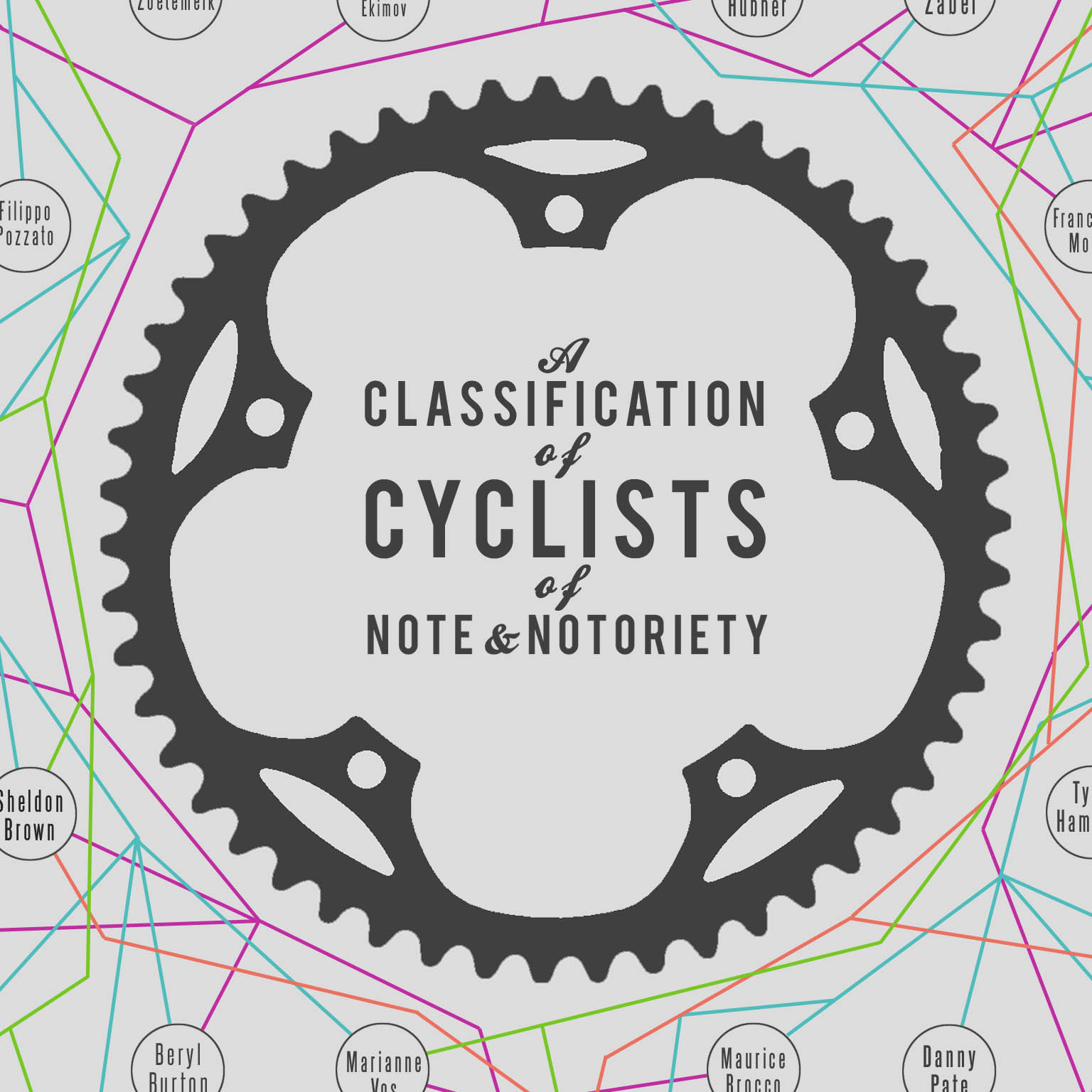 Classification of Cyclists of Note & Notoriety