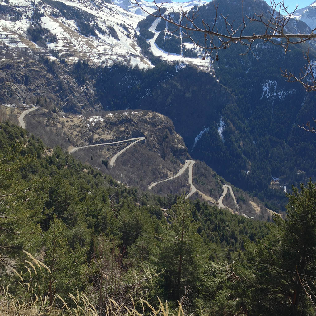 21 Bends of L'Alpe D'Huez