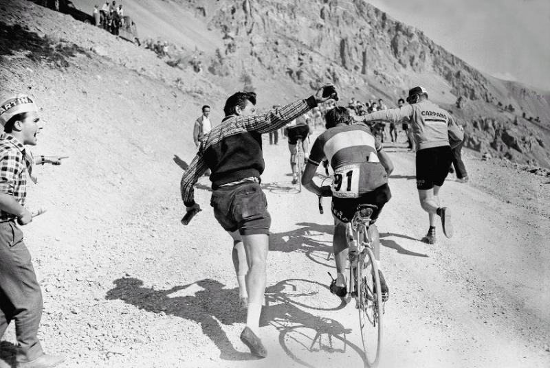 Le Tour de France Ventoux Cycling Art