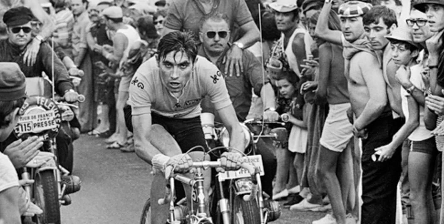 Eddie Merckx winning 1969 Tour de France