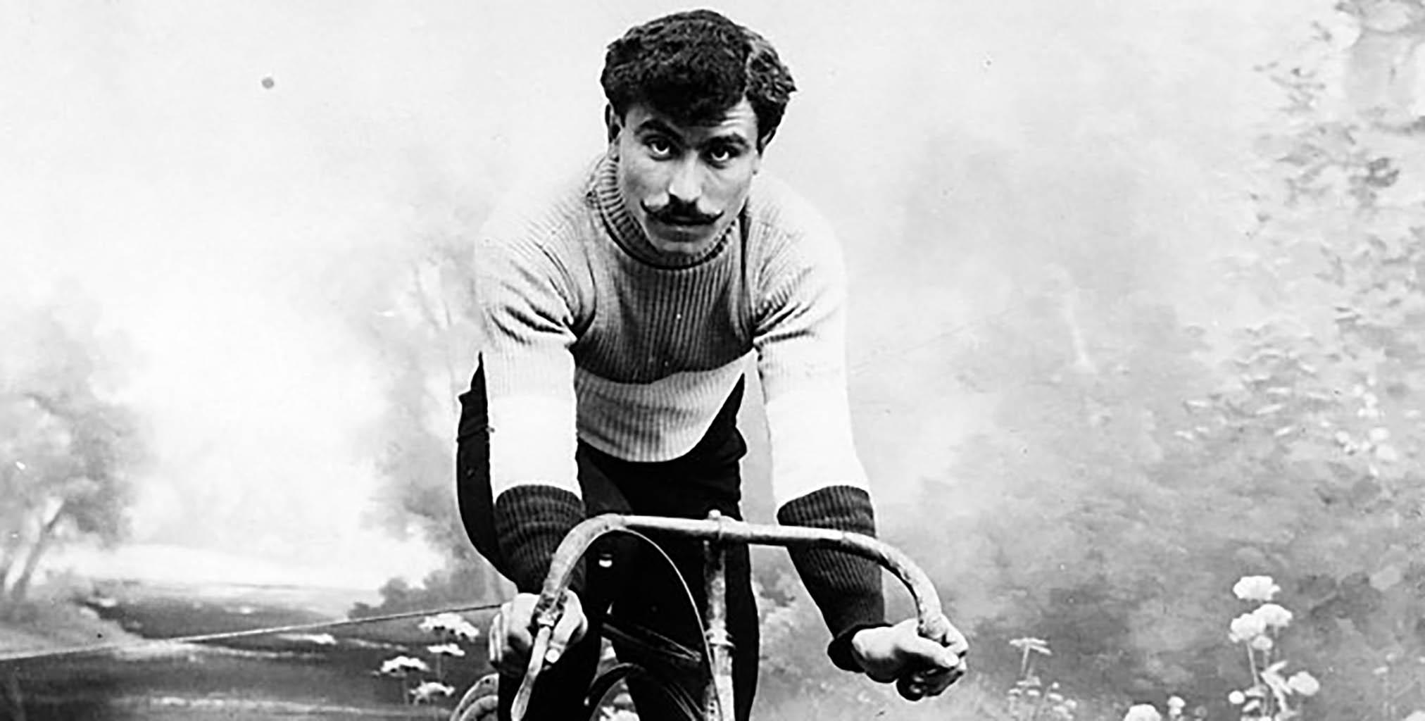 Tour de France Vintage Cyclist
