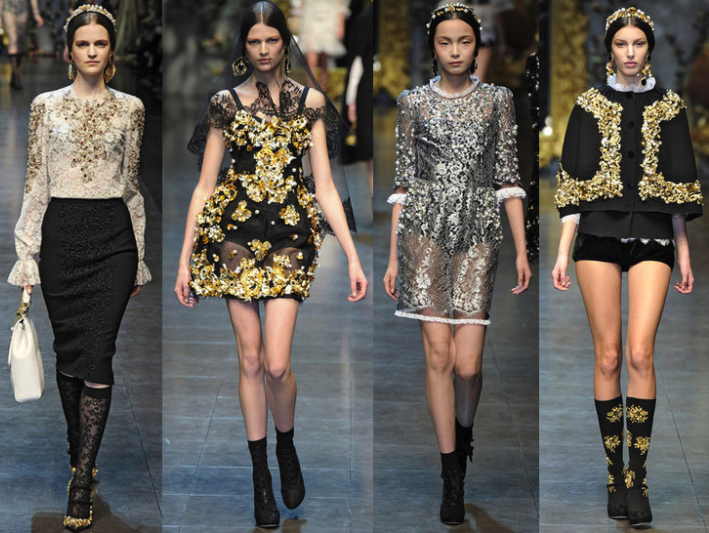 Dolce Gabbana Fall collection