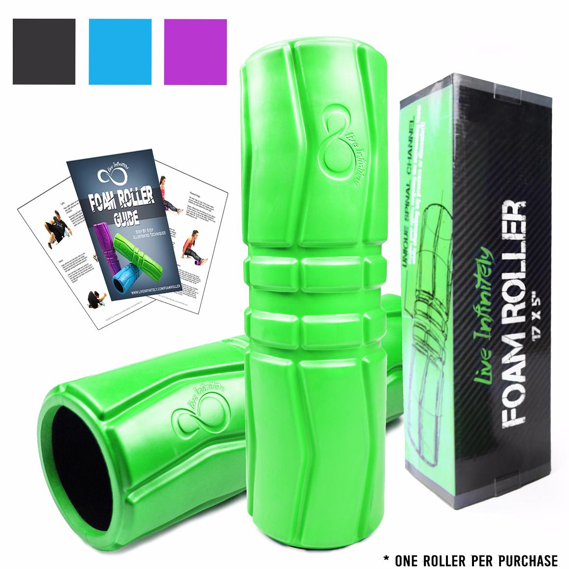 Green Foam Roller