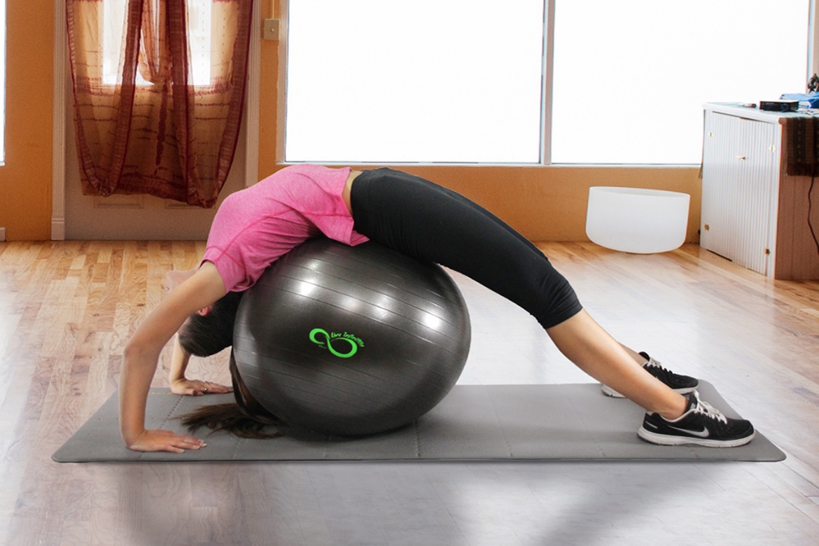 Exercise Ball Yoga