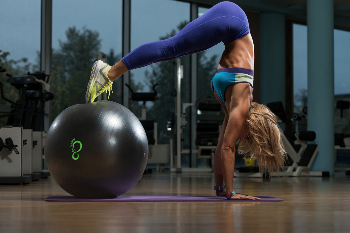 Exercise Ball Plank Workout