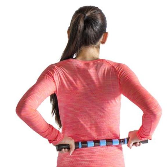 Lower Back Massage With Massage Stick