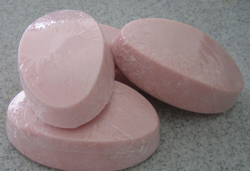 Shea Butter Soap Shell Pink