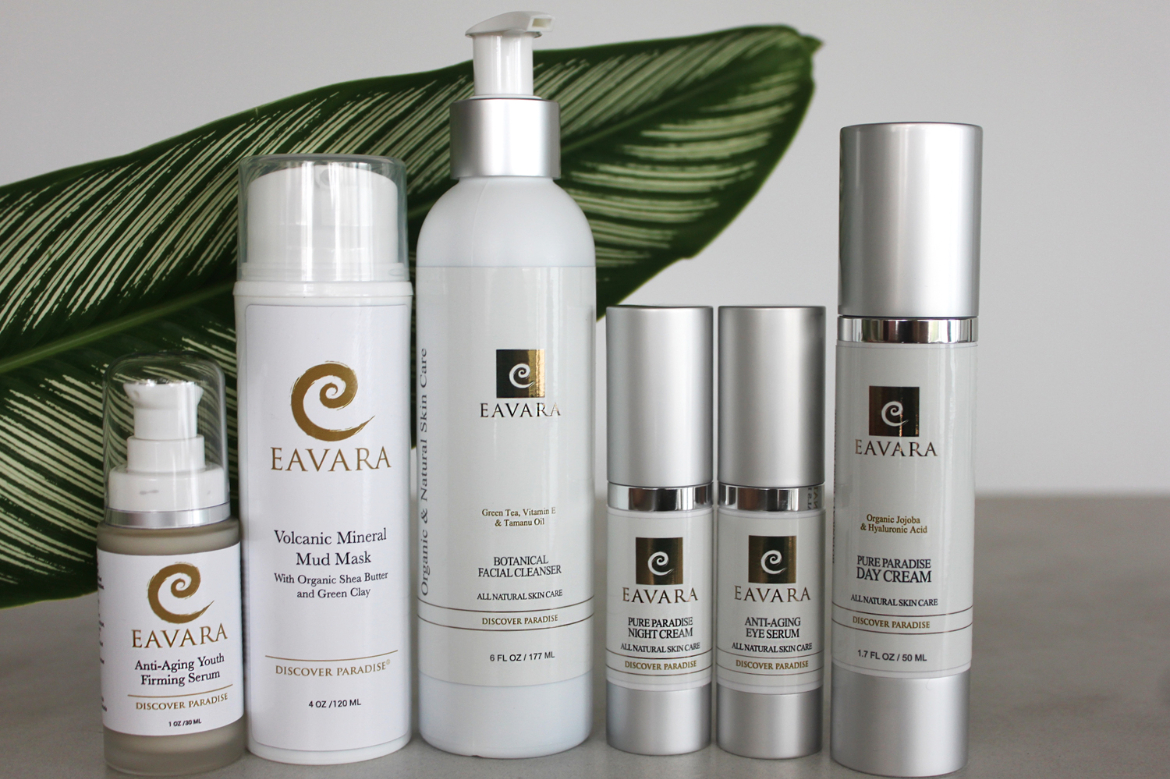 Eavara Skin Care full line