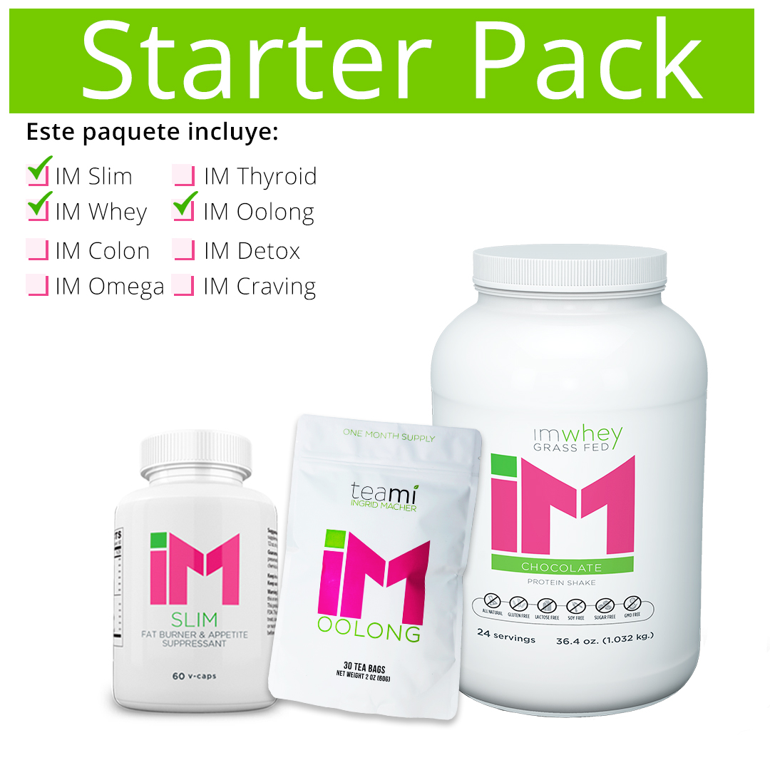 Starter Pack IM Slim, IM Oolong, IM Whey