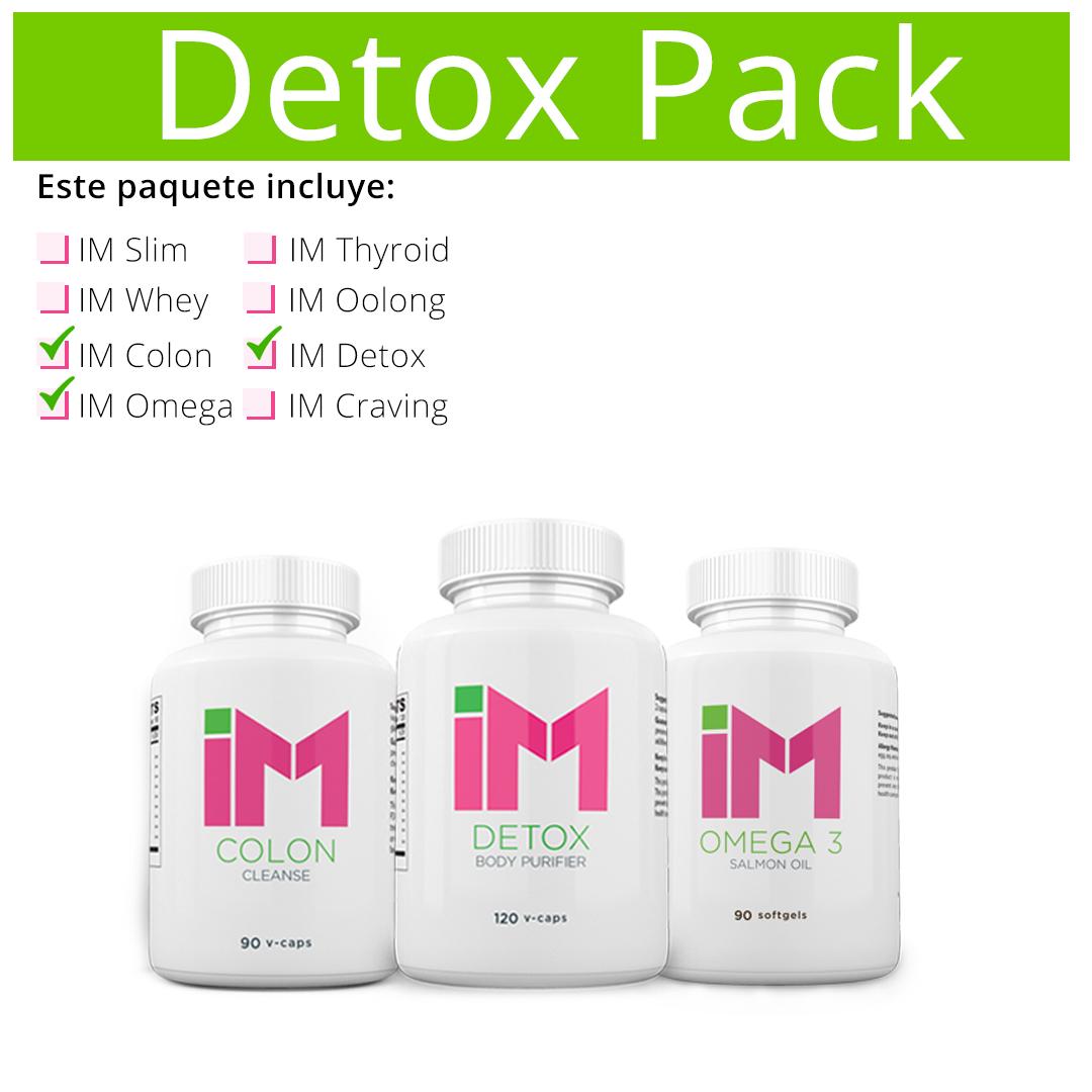 Detox Pack IM Detox, IM Colon, IM Omega 3