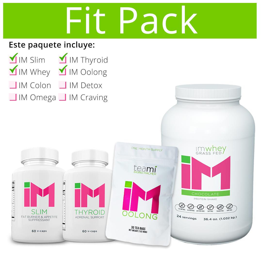 Fit Pack - IM Slim, IM Thyroid, IM Oolong, IM Whey