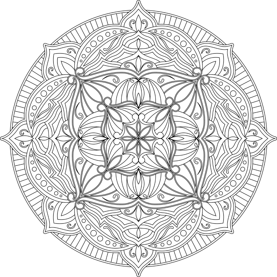 Mandalas To Color Volume 1 - Image 3