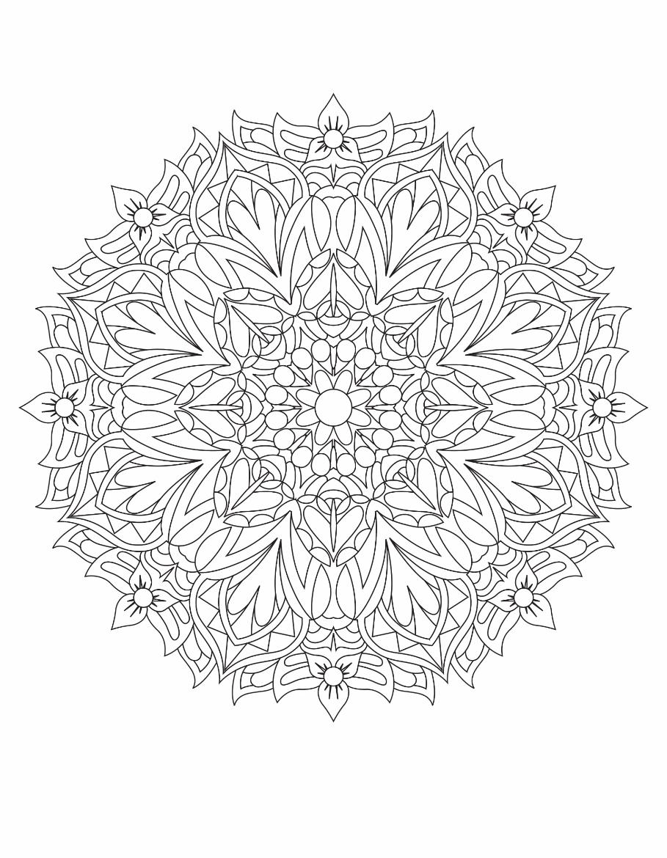 Mandalas Drawing 1