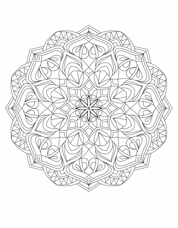 Mandalas Drawing 2