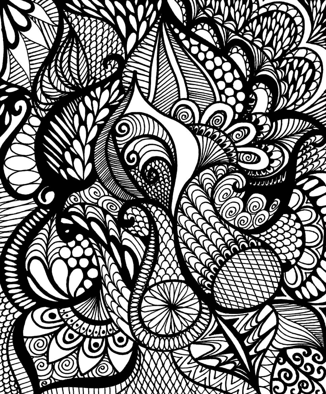 Calming doodles image 1
