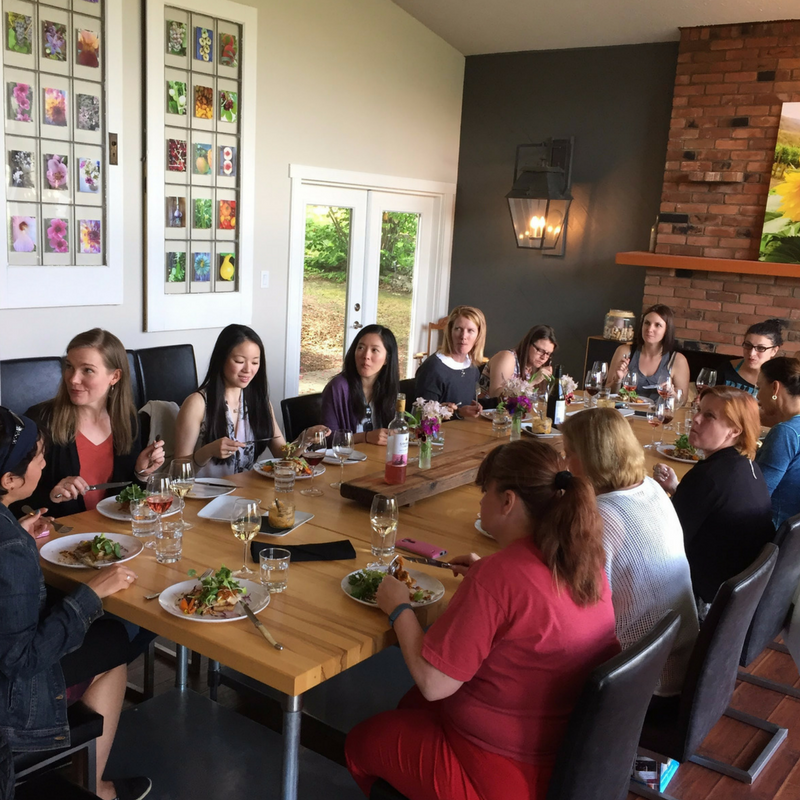 Osoyoos Farm-to-Table lunch | Bunny Butt Yoga