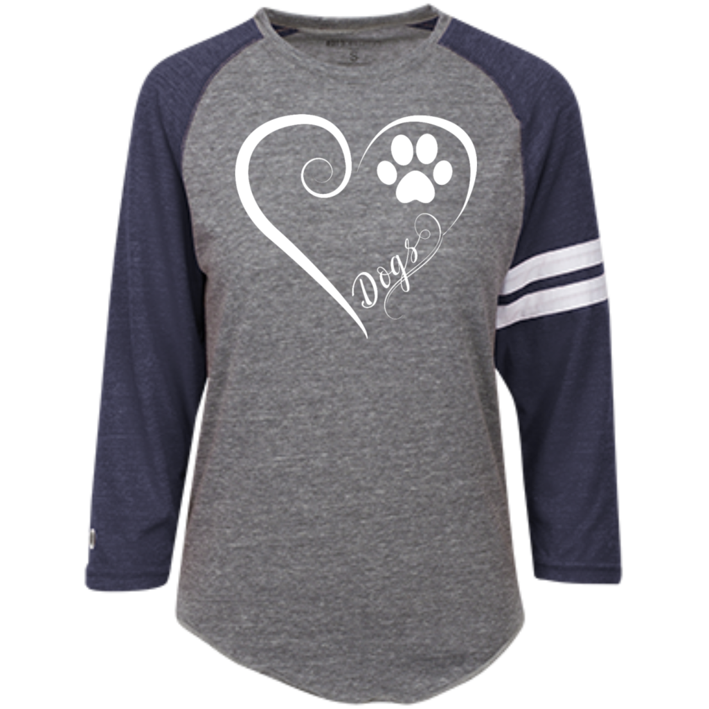 Dogs, Always in My Heart Heathered Vintage Shirt