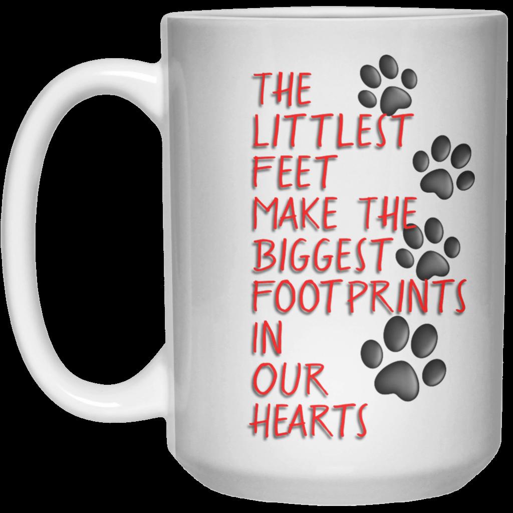 The Littlest Footprints Mug - 15oz