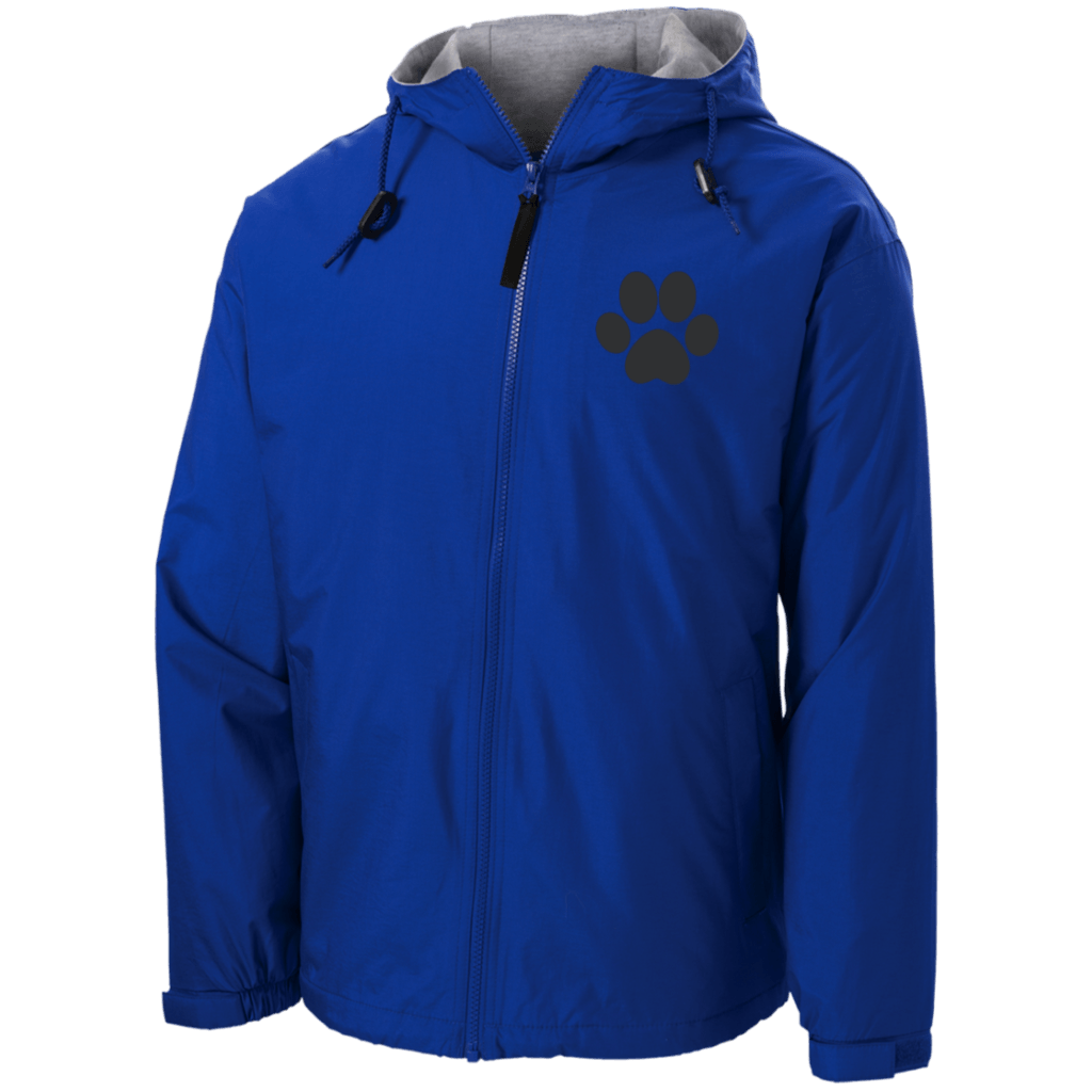 Paw Print Embroidered Team Jacket