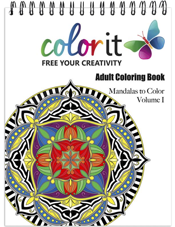 Mandalas Volume 1 Coloring Book