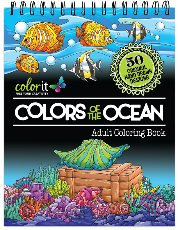 Colors of the Ocean Coloring Book