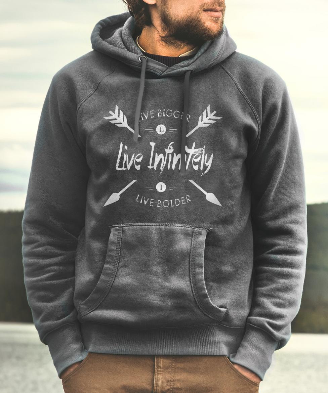 live infinitely hoodie