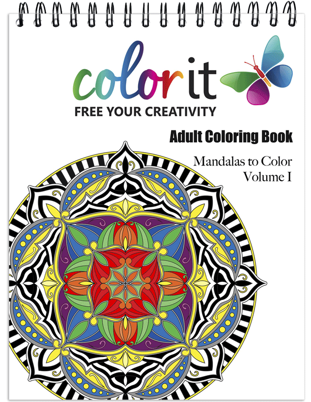 Mandalas Volume 1 Coloring Book