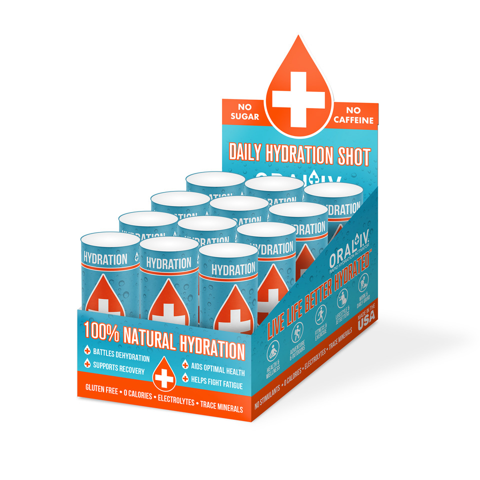 ORAL I.V. Daily Hydration Shot 12-pack
