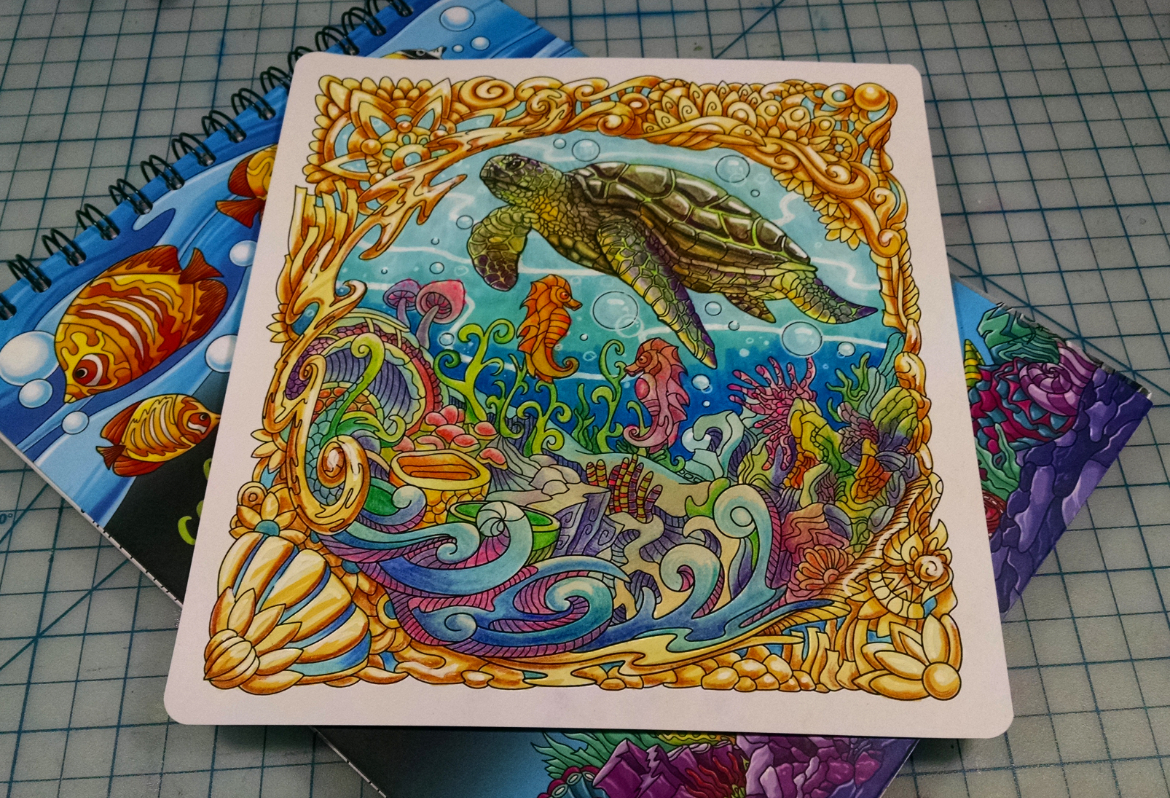 Colors of the Ocean Coloring Page