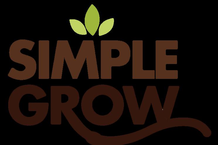 simple grow logo