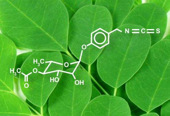 Moringinine Moringa Antioxidant Compound
