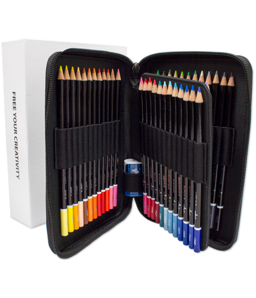 48 Colored Pencils