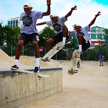 jelly skateboards street park skateboard