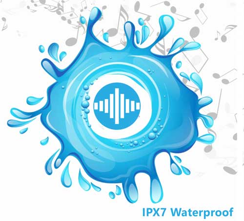 IPX7 Waterproof Headphones
