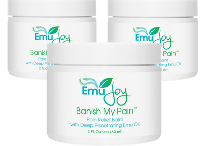 Banish My Pain 3 jars