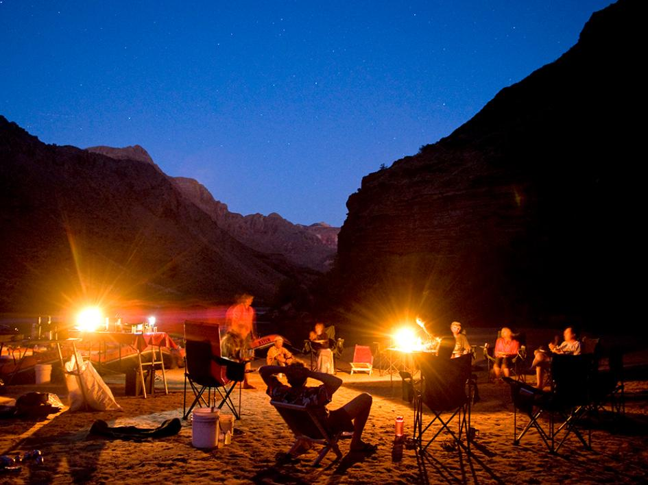 don't stress about campsite availability