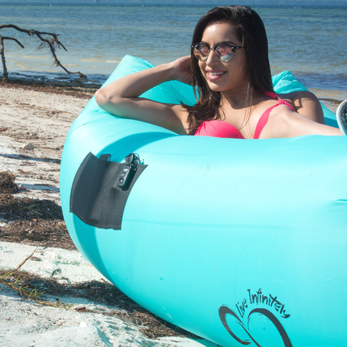 inflatable lounger chair