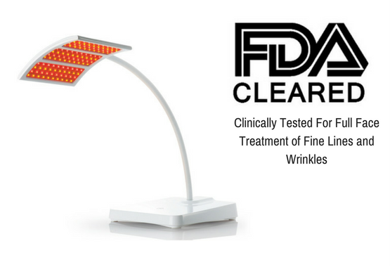 FDA cleared red light anti-aging LED lamp