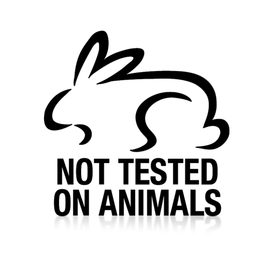 Not tested on animals.