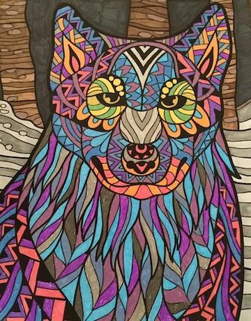 Wolf gel pens